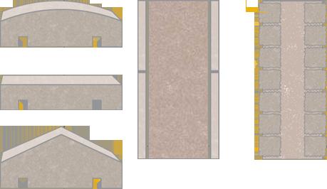 WALLS AND COPESTONES
