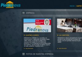 Piedranova´s New Web Site
