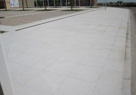 Main Square paving at Muelas del Pan (Zamora)