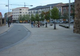 Astorga Monumental area paving