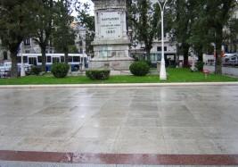 Pavimentación Jardines de Pereda. Santander