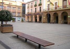 Plaza de España en Alfaro (La Rioja)