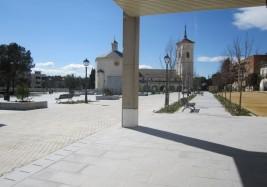Pavimentación Plaza de la Constitución de Majadahonda (Madrid)