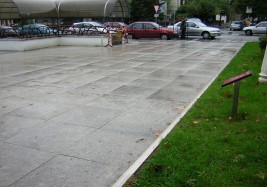 Pereda Gardens paving at Santander