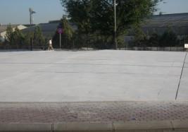 Aménagement du rond-point José Gárate, à Coslada (Madrid).