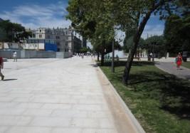 Pavimentación Paseo Sierra de Atapuerca (Burgos)